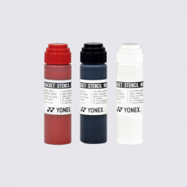 Yonex AC414EX Stencil Ink, WHITE