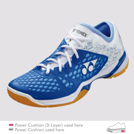 YONEX POWER CUSHION 03 Z, LADIES LIGHT BLUE